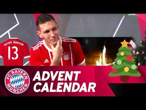 Pantomime w/ Niklas Süle | FC Bayern Xmas Advent Calendar #13