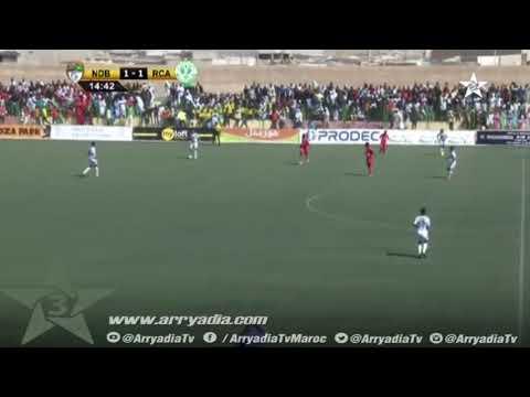 كأس الكونفدرالية| إف سي نواذيبو 1-2 الرجاء البيضاوي هدف الحافيظي