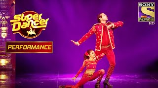 """Arushi And Nishant's Snazzy Performance On """"Pinga"""" 