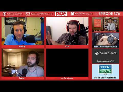 connectYoutube - PKA 375.5 - Live Show Announcement, Walking Dead, Wings News
