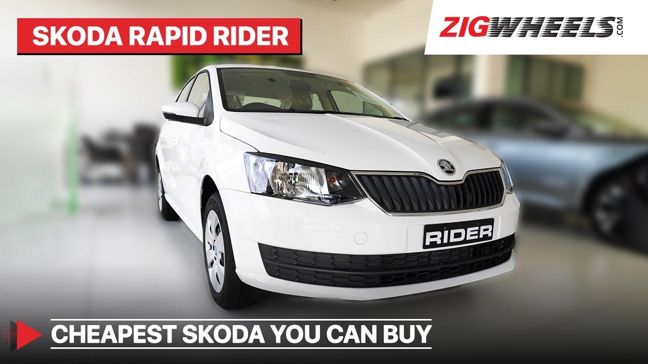 2020 Skoda Rapid Walkaround I Base Rider Variant I ZigWheels.com