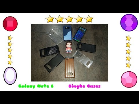 Galaxy Note 8 - Ringke Cases Review & Giveaway