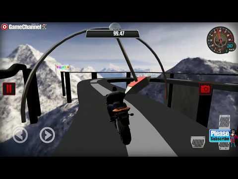 connectYoutube - Motocross Bike Racer Stunt Games / Motor Racer Stunt Tracks / Android Gameplay Video