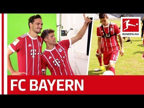 Good Guy James, Joker Hummels, Dancer Boateng and Merry Müller - Behind the Scenes at Bayern München
