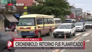 El regreso desordenado del transporte genera diversas posiciones en Santa Cruz