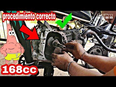Cómo quitar el gobernador y atiempar un motor 4 Tiempos  (#bicimotoszoids)