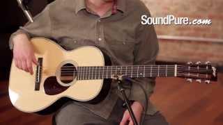 Collings 02H 12 Fret Acoustic Guitar Demo