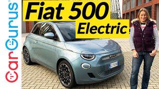 Электрический Fiat 500e, управляемый в Великобритании: Fiat толь