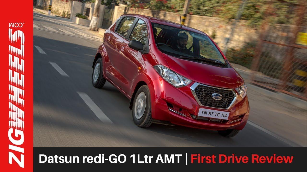 Datsun Redi-Go 1Ltr AMT | First Drive Review | ZigWheels.com