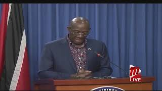 Press Conference Hosted by Prime Minister Rowley - Saturday 6th June 2020