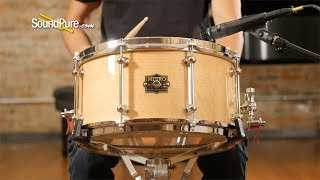 Metro 7x14 Crabapple 12Ply Snare Drum Natural Gloss—Quick 'n' Dirty