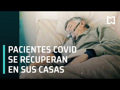 Pacientes Covid se recuperan en sus casas ante falta de camas en hospitales en CDMX - En Punto