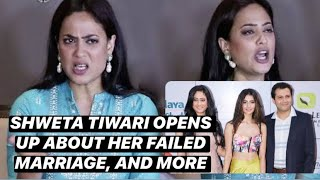 Shweta Tiwari opens up about the issue in her failed marriage, struggles, and more | Tellychakkar - TELLYCHAKKAR