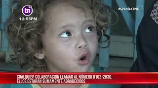 Familia que tiene 5 días viviendo a la intemperie solicita ayuda en Managua - Nicaragua