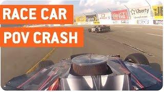 Lake Erie Speedway Crash   Dashcam Accident