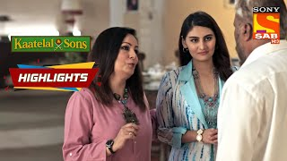 Mini Tells Dharampal Her Evil Plan   Kaatelal backslashu0026 Sons   Episode 170   Highlights - SABTV