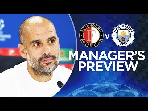 PEP & STONES PREVIEW | Feyenoord v City | Champions League 2017-18