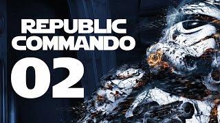 Republic Commando PC Gameplay - Part 2 (GEONOSIANS - Let's Play Republic Commando Walkthrough)