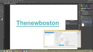 Photoshop CS6 Tutorial - 185 - Text Styles