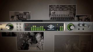 Apollo High-Resolution Interface with Realtime UAD Processing Overview