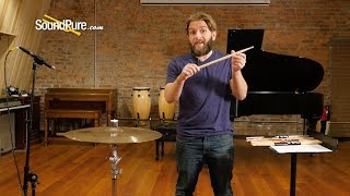 How Drumstick Tips Can Affect Your Sound - Sound Pure Gear Tip
