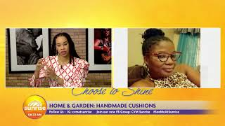 DIY: Handmade Cushions | Sunrise: Home and Garden  | CVMTV