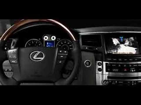 Lexus LX 570 SUV 2008 Overall