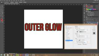 Photoshop CS6 Tutorial - 173 - Outer Glow