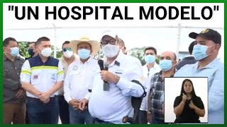 Giammattei en entrevista indica que hay un Hospital Modelo en Santa Lucía Cotzumalguapa, Escuintla