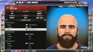 Creating Your Player in Road to the Show - MLB 14: The Show (PS4) Gameplay