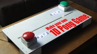 Make your own 1D Pong Game