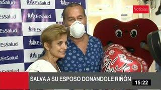 Día de San Valentín: dona riñón a su esposo para salvarle la vida