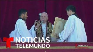 Papa Francisco oró por los inmigrantes   Noticias Telemundo