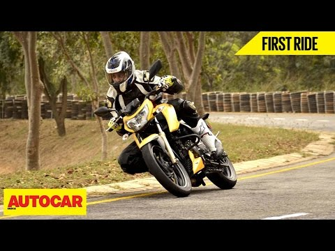 TVS Apache RTR 200 | First Ride