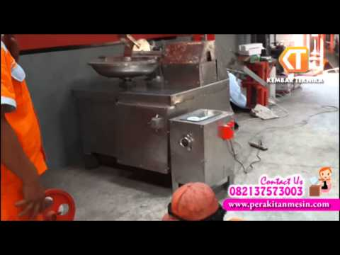 VIdeo Tutorial Mesin Penggiling Daging Full Stainless Steel