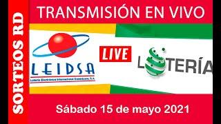 LEIDSA y Lotería Nacional en vivo / Sábado 15 de mayo 2021 8:55 P.M