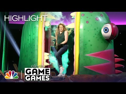 Ellen's Game of Games - One-Eyed Monster (Episode Highlight)