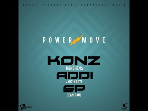 connectYoutube - KONSHENS feat. VYBZ KARTEL x SEAN PAUL - POWER MOVE {DRE DAY PRODUCTIONS / SUBKONSHUS MUSIC}