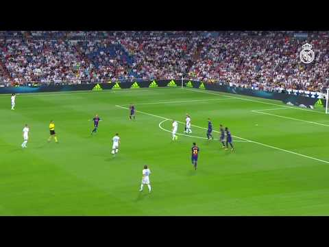 MARCO ASENSIO GOAL | Real Madrid 2-0 Barcelona (Spanish Super Cup 2017)
