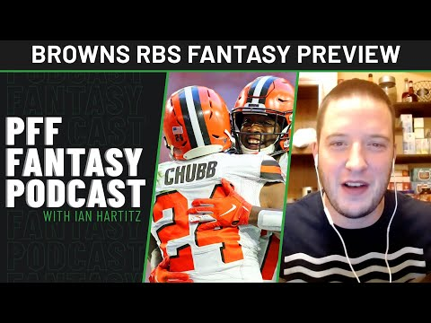 Could both Nick Chubb and Kareem Hunt ball out again in 2021   PFF Fantasy Files