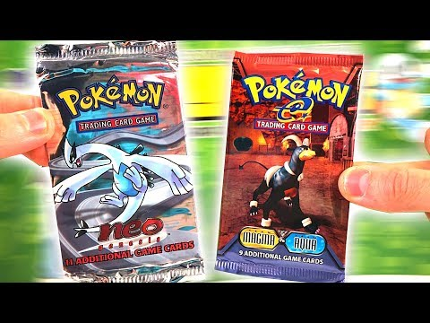 connectYoutube - Opening EXTREMELY Rare VINTAGE POKEMON CARDS PACKS! (EX PULL!)