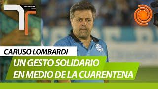 El gesto de Caruso Lombardi: no cobrará su sueldo en Belgrano hasta que vuelva el fútbol
