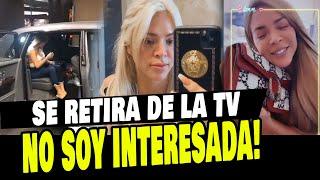 SHEYLA ROJAS RESPONDIÓ SI ES INTERESADA Y SI CONTINUARÁ EN LA TELEVISIÓN