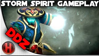 ddz Ranked Storm Spirit Gameplay Dota 2