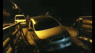 Funcionario del Inpec intentó huir de control de la Policía por puente férreo