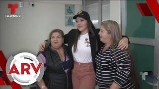 Hija de Julio Preciado habla por primera vez luego de donarle un riñón a su padre   Telemundo