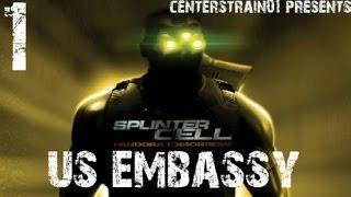 Splinter Cell - Pandora Tomorrow - Stealth Walkthrough Part 1 - US Embassy
