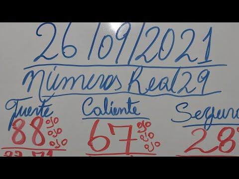 NUMEROS PARA HOY 26/09/2021 DE SEPTIEMBRE PARA TODAS LAS LOTERIAS
