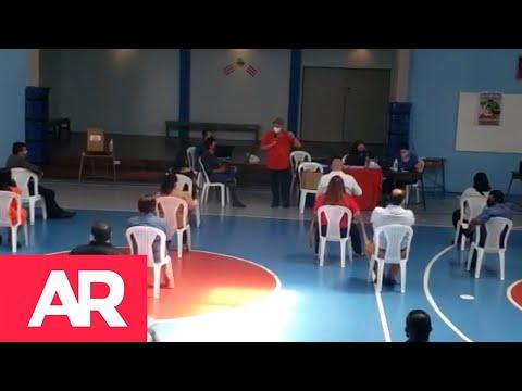 Discusión en asamblea provincial del PUSC en Cartago en elección de candidatos a diputados