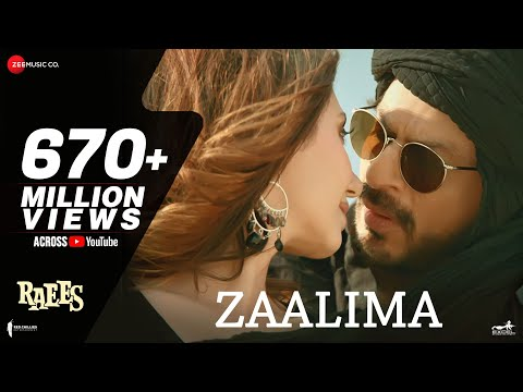 Zaalima Lyrics - Raees | Arijit Singh, Harshdeep Kaur